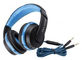 OVLENG X 2BL Cuffia stereo con microfono blu