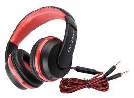 OVLENG X 2R Cuffia stereo con microfono rossa