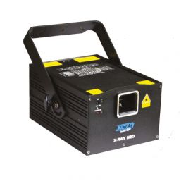 NICOLS X RAY NEO Laser 1W RGB con ILDA DMX
