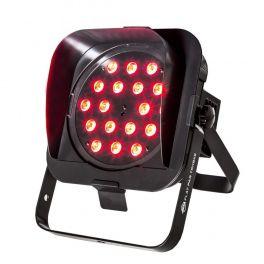 AMERICAN DJ FLAT PAR TRI18XS 18 LED RGB DA 3W PARLED 3 IN 1 LEDS DMX IN / OUT 40° PROFILO RIBASSATO