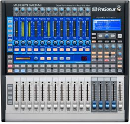 PRESONUS STUDIOLIVE 16.0.2 USB MIXER DIGITALE 16 CANALI 13 PREAMPLIFICATORI X-MAN 2 PROCESSORI EFFETTI