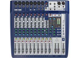 SOUNDCRAFT SIGNATURE 12 MIXER ANALOGICO 12 CANALI CON EFFETTI LEXICON E LIMITER DBX