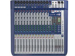 SOUNDCRAFT SIGNATURE 16 MIXER 16 CANALI CON EFFETTI LEXICON E LIMITER DBX