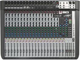 SOUNDCRAFT SIGNATURE 22 MTK MIXER ANALOGICO USB 22 CANALI MULTITRACCIA CON EFFETTI LEXICON E LIMITER DBX
