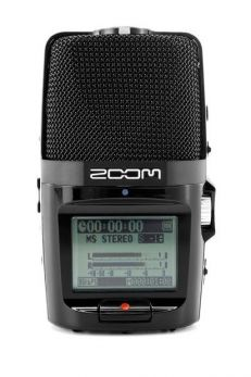 ZOOM H2N REGISTRATORE PORTATILE PALMARE 2 TRACCE 24 BIT + SOFTWARE STEINBERG WAVELAB + SD CARD 2GB