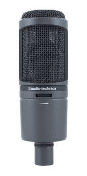 AUDIO TECHNICA AT2020 USBi MICROFONO CARDIOIDE CONDENSATORE A DIAFRAMMA LARGO USB LIGHTING IOS IPHONE