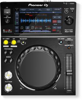 """PIONEER XDJ700 DECK DIGITALE REKORDBOX USB MIDI LAN LCD TOUCH 7"""""""