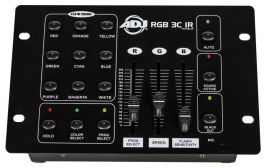 AMERICAN DJ RGB 3C IR CONTROLLER RGB 3 CANALI + RICEVITORE IR