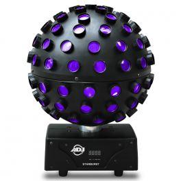 AMERICAN DJ STARBURST SFERA 5 LED RGBVY+UV 34 RAGGI MULTICOLORE