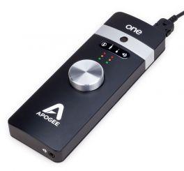 APOGEE ONE IOS MAC INTERFACCIA AUDIO USB 2 IN 2 OUT PER IPAD IPHONE E MAC
