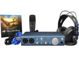 PRESONUS AUDIOBOX ITWO STUDIO BUNDLE KIT HARDWARE SOFTWARE PER REGISTRAZIONI AUDIO