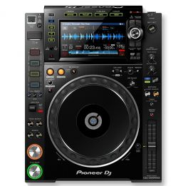 PIONEER CDJ2000-NXS2 NEXUS 2 BLACK CD PLAYER PROFESSIONALE PER DJ NERO