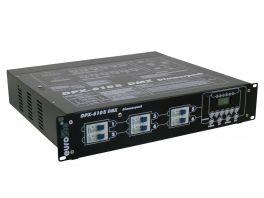 EUROLITE DPX-610S DMX DIMMER PACK PROFESSIONALE 6 CANALI 13800 WATT 60A 6 USCITE PRESE SCHUKO CABLATE