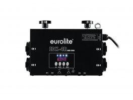 EUROLITE EDX-4RT DIMMER PACK DMX 4 CANALI 3680 WATT 16A + 4 PRESE SCHUKO + FISSAGGIO TRUSS