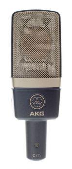AKG C314 MICROFONO A CONDENSATORE MULTIPOLARE PER VOCE E STRUMENTI