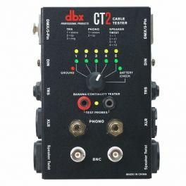 DBX CT2 TESTER CAVI AUDIO JACK - XLR - BNC - DMX - SPEAKON - MIDI - RCA