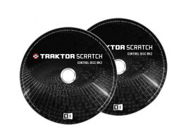 NATIVE INSTRUMENTS TRAKTOR SCRATCH CONTROL CD MKII CD DI CONTROLLO PER TRAKTOR TIME CODE