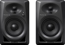 """PIONEER DM 40 COPPIA MONITOR ATTIVI BASS REFLEX PER DJ E STUDIO 2 VIE 4"""" - 0,75"""" 21 WATT"""