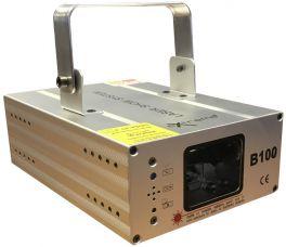 EXTREME B100 EFFETTO LUCE LASER COLORE SINGOLO BLU 100 mW 470nm SOUND ACTIVE MICROFONO INTEGRATO