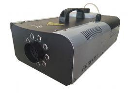 EXTREME FOG 1500 9 TRI 3 MACCHINA DEL FUMO 1500 WATT 9 LED 3 WATT RGB 3 IN 1 CONTROLLO WIRELESS CAPACITA' 1,5 LITRI
