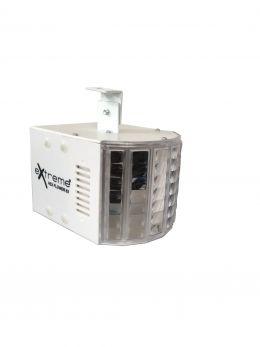EXTREME HEX FLOWER 63 EFFETTO LUCE 6 X 3W RGBWA+UV LED MULTI BEAM DERBY DISCOTECA 30 WATT CONTROLLO DMX 6 CANALI