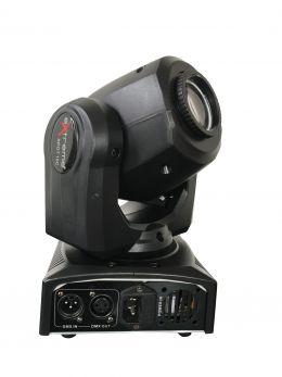 EXTREME MINI SPOT 10-C LED CREE 10W CONTROLLO DMX 4/12 CANALI 7 GOBOS 8 COLORI EFFETTI 8 PROGRAMMI SOUND AUTO MASTER SLAVE