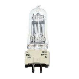 GENERAL ELECTRIC CP82 LAMPADA 500 WATT GY9,5 3200K