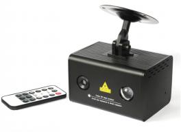 EXTREME AURORA BOREALIS DOPPIO EFFETTO LUCE LASER RG + LED RGB 3x3WATT SOUND ACTIVE + AUTO