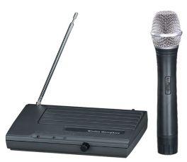 EXTREME WM100-V RADIOMICROFONO VHF PALMARE CAPSULA DINAMICA TRASMETTITORE + RICEVITORE