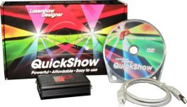 PANGOLIN QUICKSHOW 3.0 FB3 QS SOFTWARE PROFESSIONALE CONTROLLO LASER + SUPPORTO DMX 512