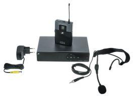 SENNHEISER XSW 1-ME3-A SISTEMA WIRELESS HEADSET ARCHETTO PER VOCE E CANTO UHF  548- 572 MHz