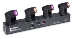 CAMEO HYDRABEAM 400 RGBW BARRA 4 TESTE MOBILI LED RGBW 10W DMX + AUTO RUN + SOUND CONTROL
