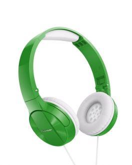 PIONEER SE-MJ503-GR GREEN CUFFIA ON-EAR PER SMARTPHONE VERDE