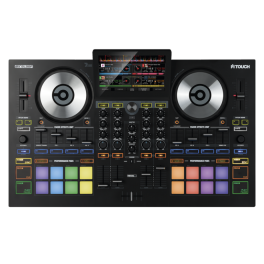"RELOOP TOUCH CONTROLLER PER DJ 4 CANALI CON DISPLAY TOUCH DA 7"" EX-DEMO"