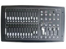 EXTREME CONTROL DMX 24 CENTRALINA REGIA MIXER LUCI DMX-512 48 SCENE SETTER PROGRAMMABILI 24 FADER 24 CANALI