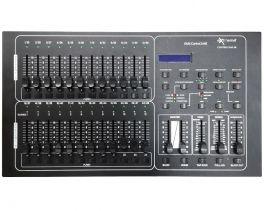 EXTREME CONTROL DMX 48 CENTRALINA REGIA MIXER LUCI DMX-512 96 SCENE PROGRAMMABILI 24 FADER 48 CANALI IN 2 PAGINE