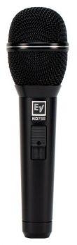 EV ELECTROVOICE ND76S MICROFONO DINAMICO CARDIOIDE CON SWITCH ON/OFF PER VOCE