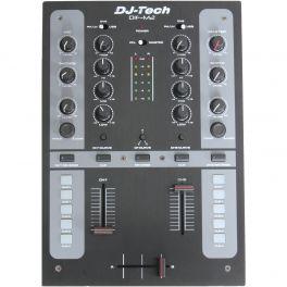 DJ TECH DIF M2 MIXER SCRATCH PER DJ 2 CANALI