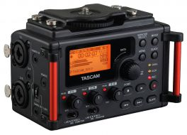 TASCAM DR60 V2 MKII REGISTRATORE PCM LINEARE / MIXER PER DSLR