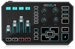 TC HELICON GO-XLR MIXER PORTATILE 4 PAD CANALI PLAY BROADCAST STREAM ONLINE