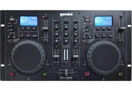 GEMINI CDM4000 CONTROLLER LETTORE MULTIMEDIALE CD USB MP3 PER DJ