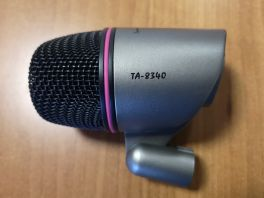 TAKSTAR TA-8340 MICROFONO DINAMICO CARDIOIDE PER CASSA E PERCUSSIONI USATO