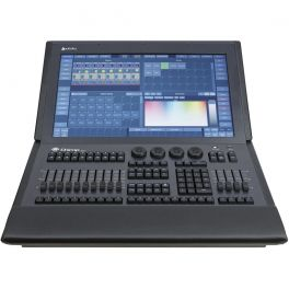 """INFINITY CHIMP 300 G2 CONTROLLER DMX 4 UNIVERSI 2048 CANALI DISPLAY TOUCH 22"""" FHD"""