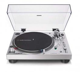 AUDIO TECHNICA AT LP120X USB GIRADISCHI PROFESSIONALE A TRAZIONE DIRETTA GRIGIO