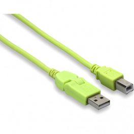 BEATPORT DJ CABLES USB 3MT CAVO USB 2.0 HI-SPEED USB-A/USB-B 3 METRI COLORE VERDE