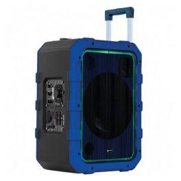 GEMINI MPA 2400 BLU CASSA ATTIVA A BATTERIA 240W CON PLAYER USB E BLUETOOTH + TROLLEY INTEGRATO COLORE BLU