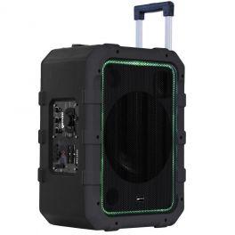 GEMINI MPA 2400 GREY CASSA ATTIVA A BATTERIA 240W CON PLAYER USB E BLUETOOTH + TROLLEY INTEGRATO COLORE GRIGIO
