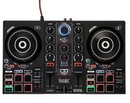 HERCULES DJ CONTROL INPULSE 200 CONTROLLER DIGITALE 2 DECK USB PER DJ