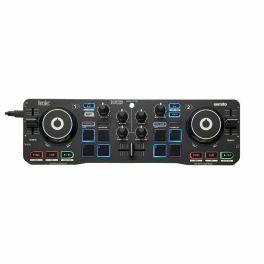 HERCULES DJ CONTROL STARLIGHT CONTROLLER DIGITALE DOPPIO DECK COMPATTO USB