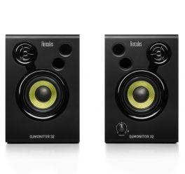 """HERCULES DJ MONITOR 32 COPPIA MONITOR DA STUDIO ATTIVI 30W 3"""" 2 VIE"""